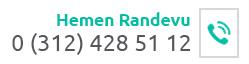 Hemen Randevu - 0312 428 51 12